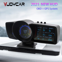 Car-Meter Hud-Gauge Intake Vjoycar Auto-Scanner Trip Computer Gps Digital OBD2 Hawk Air--Water-Temp.