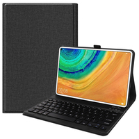 style protective For Huawei MatePad Pro 10.8 Inch Tablet Case Business Style Folding Stand Protector Case TPU+PU Leather Tablet Protective Cover (1)
