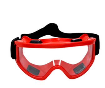 Anti-fog Windproof Safety Goggles Transparent Lens
