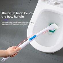 Щетка для унитаза с держателем подставки с длинной ручкой одноразовая Щетка Для Чистки унитаза сменные насадки для щетки Инструменты для уборки ванной комнаты