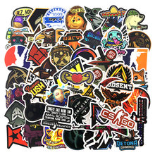 50 PCS Lot CS GO Stickers Motorcycle Anime Game Sticker For Boys Laptop Funny Graffiti Stickers Mix Waterproof Retro Pegatinas(China)