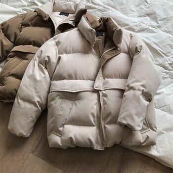 2020 femmes épais hiver manteau col montant femmes veste manteau surdimensionné manteau ample vêtements d'extérieur femme Casaco Feminino Parkas 1