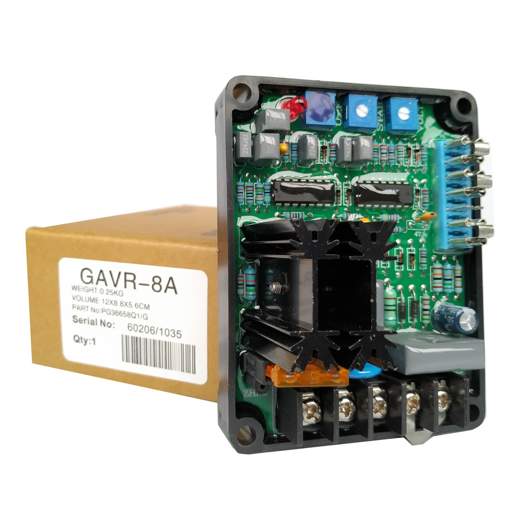 Factory! Universal 3 Phase Diesel Generator Parts Brushless Automatic Voltage Regulator GAVR 8 Generator AVR GAVR-8A
