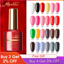 Get more info on the MORDDA Nail Gel Polish UV LED Soak Off Nail Lacquer For Manicure 120 Colors Long Lasting Gel Varnish Hybrid For Nail Art Tools