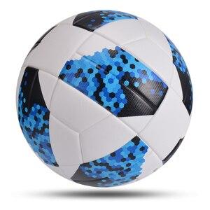 Image 3 - جديد كرة القدم النموذجية حجم 5 لينة بولي Material المواد كرة القدم التدريب المنافسة مباراة الكبار الطفل نفخ بالون دي futbol