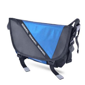 Roswheel Outdoor Bicycle Bike Bag Riding Reflective Messenger Shoulder Bag Breathable Waterproof Cycling Bag bike accessories