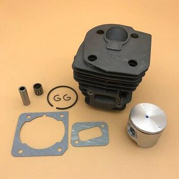 HUNDURE-Motor de pistón de cilindro de 44MM, compatible con HUSQVARNA 350, 353, 351, 346, XP, 346XP, piezas de repuesto para motosierra de Gas