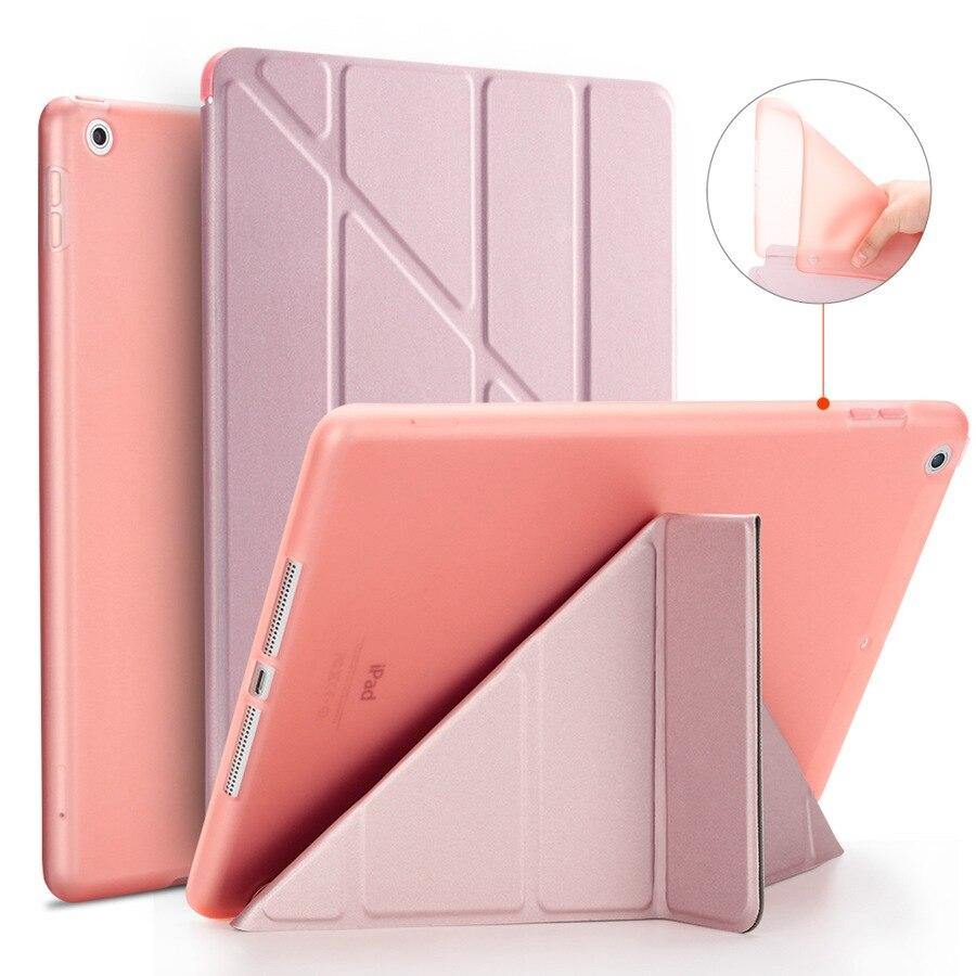 iPad Silicon Film--Pen Case Apple Film--Pen for 7-7th/A2200/A2198/.. Smart-Stand-Cover
