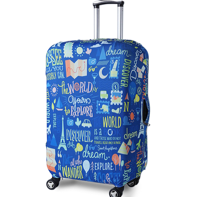 TRIPNUO Protective-Cover Trunk-Case Blue Thicker for Apply To 19''-32''