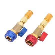 Minghaoyuan Tube de valve de pneu pour v/élo d/émonter le noyau de valve multifonction pour Presta et Schrader