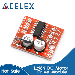 DC Motor Drive Module Reversing PWM Speed Dual H Bridge Stepper Motor Mini Victory L298N