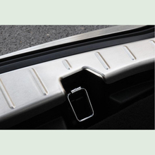 13-19 for Ford Explorer rear guard plate special stainless steel trunk guard plate pedal decorative accessories цена 2017