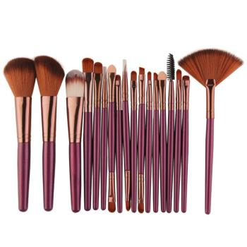 18 Pcs/set  Makeup Brushes Set For Foundation Powder Blush Eyeshadow Concealer Lip Eye Make Up Brush Cosmetics Beauty Tools