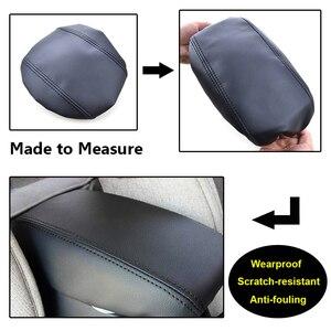 Image 2 - Dla Hyundai Creta ix25 2015 2019 główny schowek samochodowy w podłokietniku pokrywa konsola środkowa ochrona skórzany futerał akcesoria do stylizacji samochodów