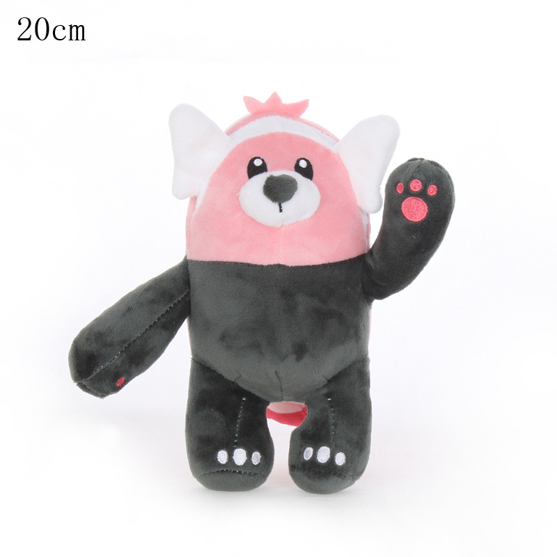 1pcs 20cm Bewear Plush Toys Doll Pendant Soft Stuffed Peluches Cartoon Animals Toys Gifts For Kids Childrens