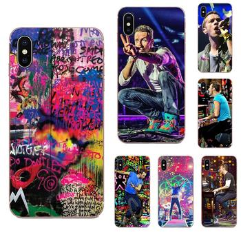 Chris Martin Coldplay Piano Viva La Live Lovely For Galaxy J1 J2 J3 J330 J4 J5 J6 J7 J730 J8 2015 2016 2017 2018 mini Pro image