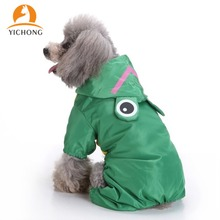 Jacket Clothing Pet-Costume Pets Funny Cute for Small Dog Raincoat YH224 YICHONG Waterproof