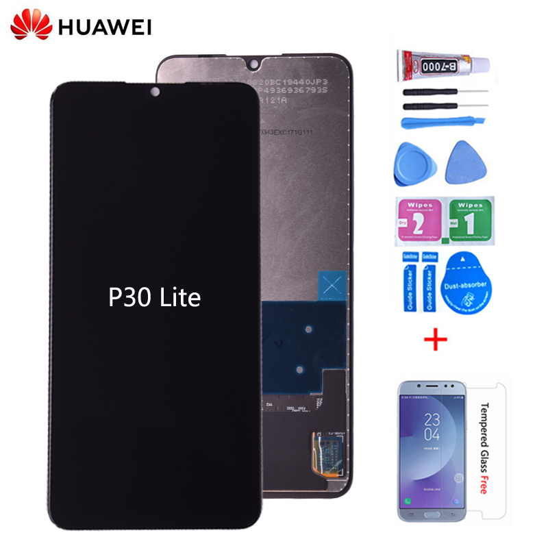 Original LCD For HUAWEI P30 Lite Lcd Display Touch Screen Digitizer Assembly For HUAWEI Nova 4e MAR-LX1 LX2 AL01