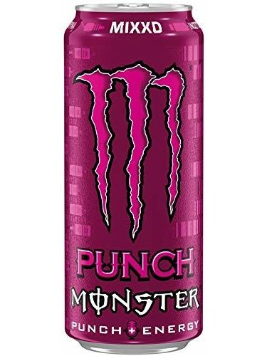 1 X 12 Monster Energy Punch Mixxd Cans PL (12 X 0,5 L)