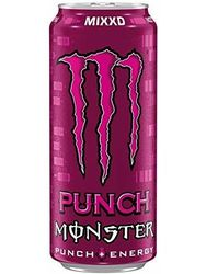 4x12 Monster Energy Punch mixd lata PL (48x0,5 л)