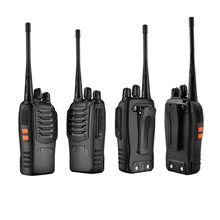 Walkie Talkie 5W High Power Dual Band Handheld UHF Two Way Radio Communicator HF Transceiver Indoor Home Office Convenient(China)