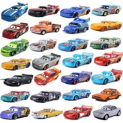Disney Pixar Car 3 Lightning McQueen Racing Family Family Jackson Storm Ramirez 1:55 Die Cast Metal Alloy Children's Toy Car