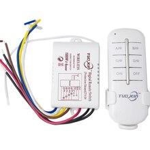 DIY 1/2/3/4 пути 220 V дистанционного Цифровой беспроводной пульт дистанционного управления ON/OFF Управление переключатель для лампочки высокое качество