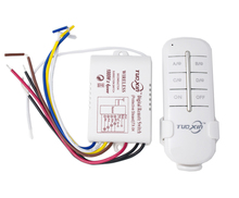Wireless Remote Control Light Switch ON OFF RF433 1/2/3/4 Ways 220V Digital Remote Control Switch Light for Lamp Bulb