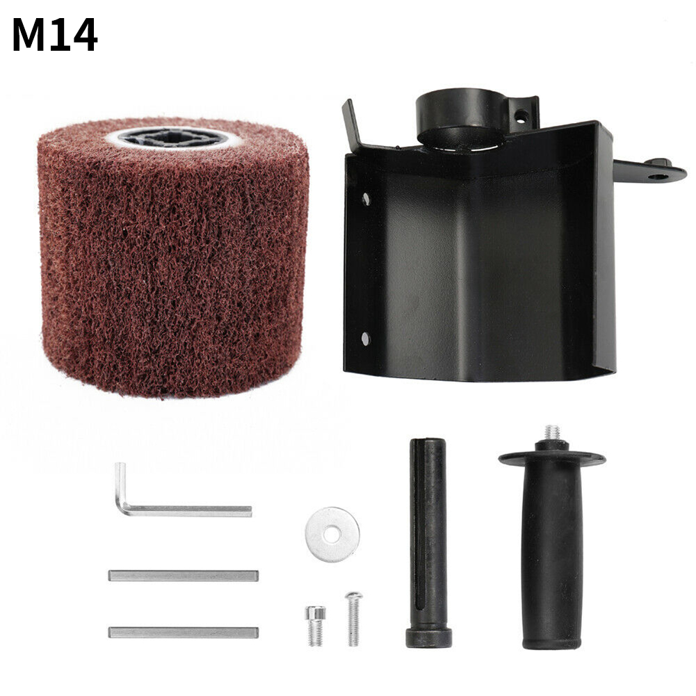 Wheel Tool Wood Sander Accessories Burnishing Polishing Machine Handle Angle Grinder Attachment Multifunctional Interchange DIY