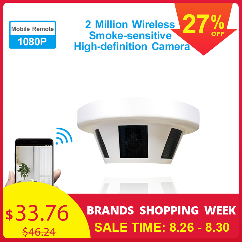 Detector Monitor Anti-Fires-Camera Security-Alarm Smart-Smoke-Sensor Wifi 1080P 2MP 3MP