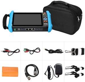 Image 5 - Kamery testeur de vidéosurveillance ip 4K, 7 pouces, H.265, caméra de sécurité, puissance optique HDMI, TDR