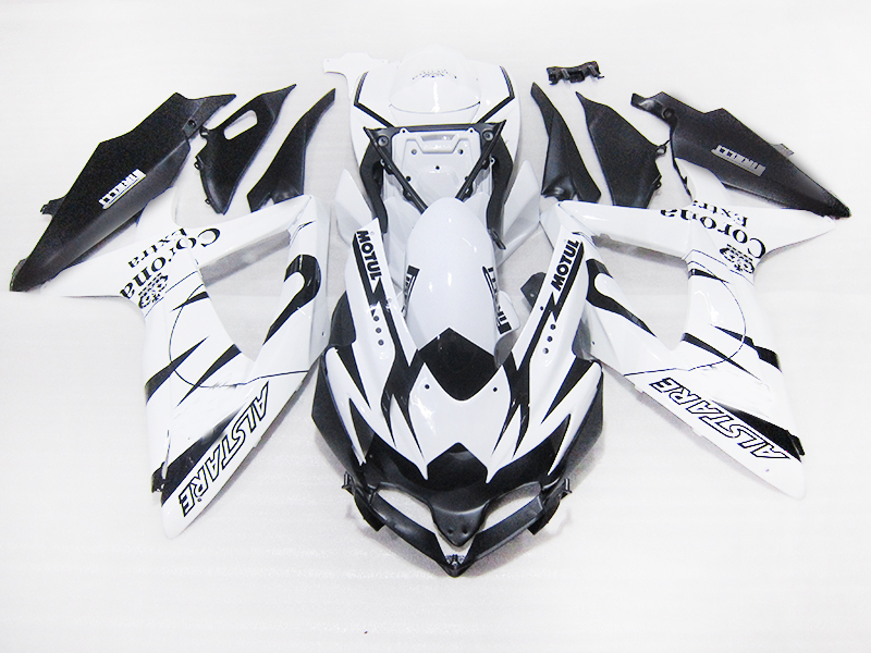 Injection ABS <font><b>Fairing</b></font> kit for Suzuki 2010 2009 <font><b>2008</b></font> <font><b>GSXR750</b></font> K8 GSXR600 GSXR 600 08 09 10 corona Extra body repair <font><b>Fairings</b></font> set image