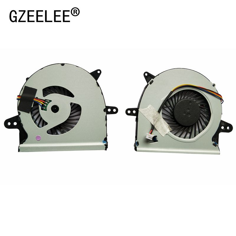 GZEELE New Cpu Cooling Fan For Asus X401U X501U X401V X501V SUNON EF50050V1-C080-S99 EF50050V1-C081-S99 Notebook Cooler Radiator