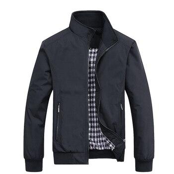 2021 Spring And Summer New Bomber Zipper Jacket Men's Streetwear Hip Hop Slim Fit Pilot Coat Men Clothing Men's Thin Jacket