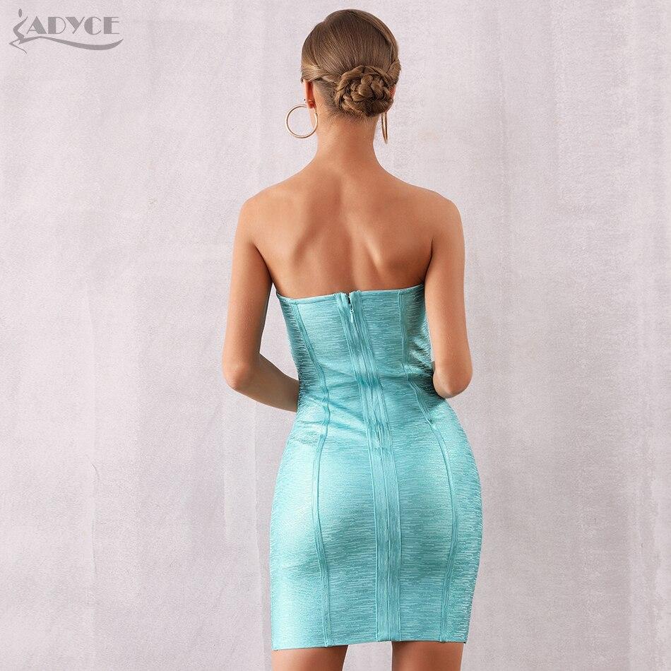 Sky ผ้าพันแผลชุดผู้หญิง Dresses ชุดรันเวย์