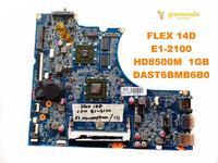 Original for Lenovo FLEX 14D laptop  motherboard FLEX 14D  E1-2100  HD8500M  1GB  DAST6BMB6B0  tested good free shipping