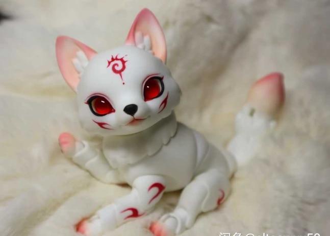 Aetop bjd boneca 12 bjd boneca céu raposa brinquedo animal presente de alta qualidade