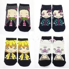 Anime Socks Women Demon Slayer Woman Sock Kamado Nezuko Prin