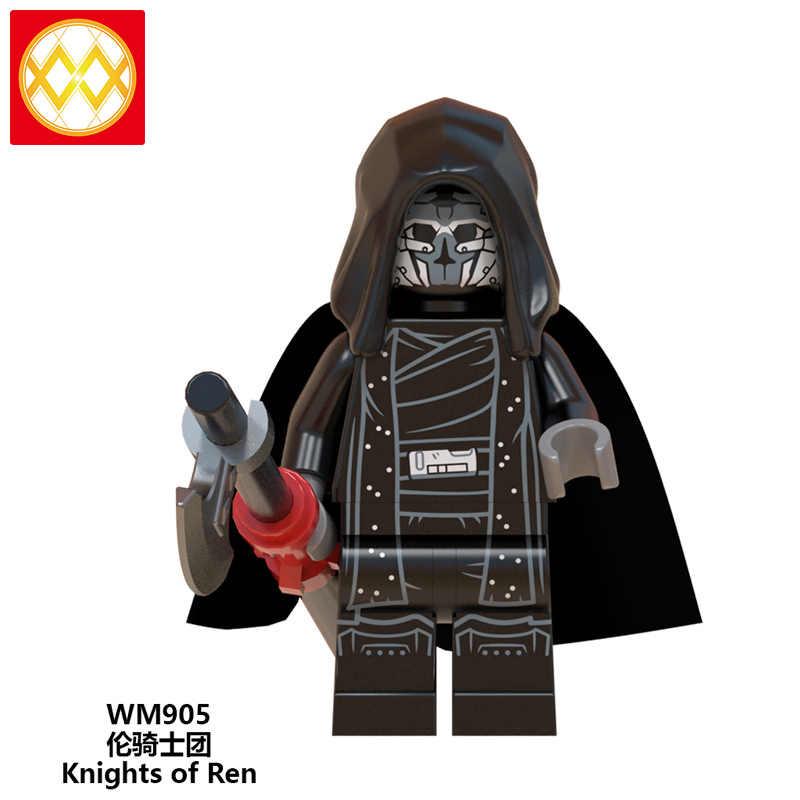 Детские игрушки для мальчиков yoda Darth Vader Building Knights of Ren Star Wars