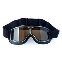 Универсальные винтажные мотоциклетные лыжные очки мотоцикл Скутер байкерские очки шлем очки для лыжников снегоходные очки новейшие