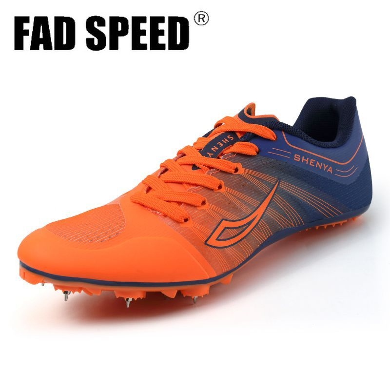 Women's Track and Field Shoes Men's Soft bottom Spikes Sneakers  Running Training Shoes Light Racing  Sneakers Unisex 36-45