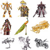 Toy Adult puzzle 3D Metal Puzzle  Colorful Peacock DIY Laser Jigsaw Puzzle Model Kit High Difficult Teen Toy Puzzle