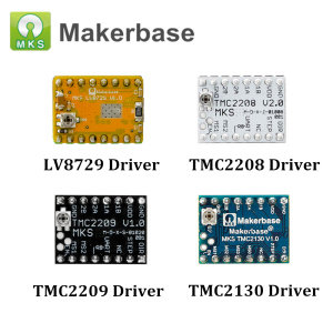 3D Printer Parts LV8729 TMC2208 TMC2209 TMC2130 Stepper Motor Driver Module Stepstick Mute Driver for MKS SGEN SKR V1.3(China)