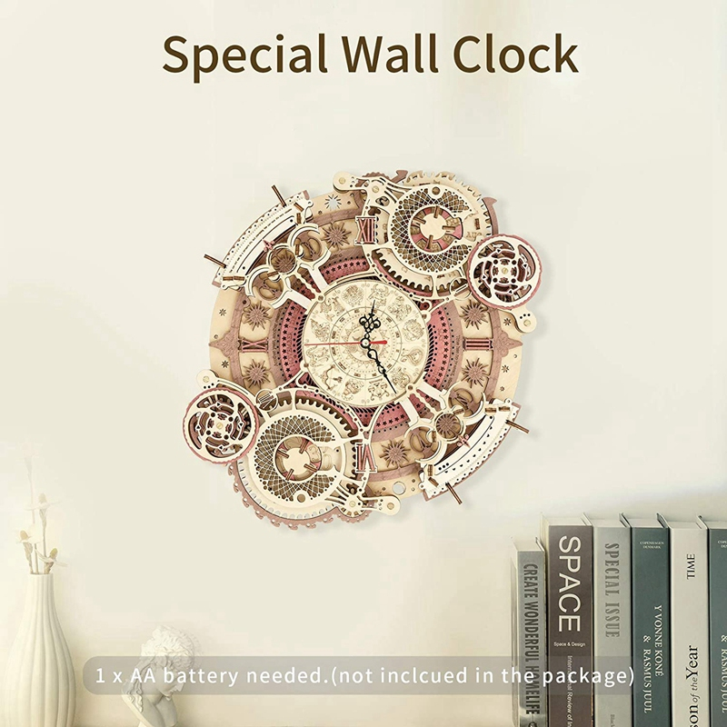 kit-relógio de parede do zodíaco