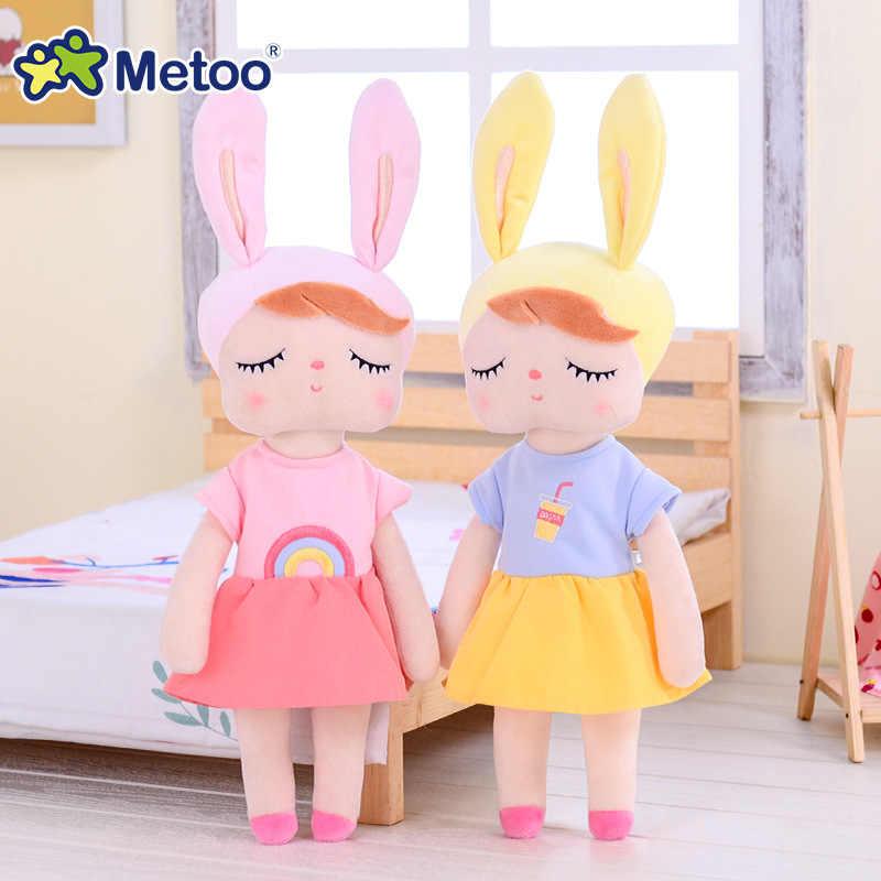 Angela coelho metoo boneca brinquedos de pelúcia animais de pelúcia crianças brinquedos para meninas meninos do bebê brinquedos de pelúcia brinquedos macios presente de aniversário