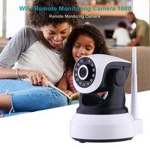 цена на Wireless Surveillance Camera HD 1080P WiFi Home Security IP Camera Night Vision CCTV Camera Baby Monitor Two-way Audio IR Remote