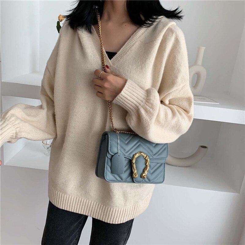 2020 Spring Designer Shoulder Bag Pu Leather Women Flap Handbag Ladies Corssbody Chain Bag Purse Hot Sale Marmont Messenger Bags