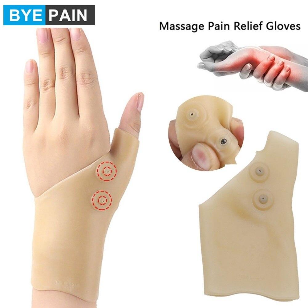 1 шт., силиконовые перчатки для поддержки большого пальца, при артрите