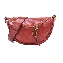 Fashion Quality PU Leather Chest Bag Casual Crossbody Bags f