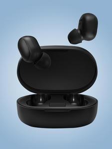 Headphones Earbuds Bluetooth V5.0 Super-Bass Tws Wireless Waterproof No Auto-Link Noise